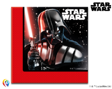 20 Star Wars Theme Paper Party Napkins